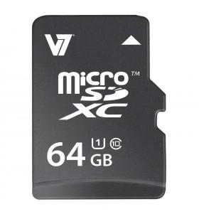 V7 VAMSDX64GUHS1R-2E memorii flash 64 Giga Bites MicroSDXC Clasa 10 UHS-I