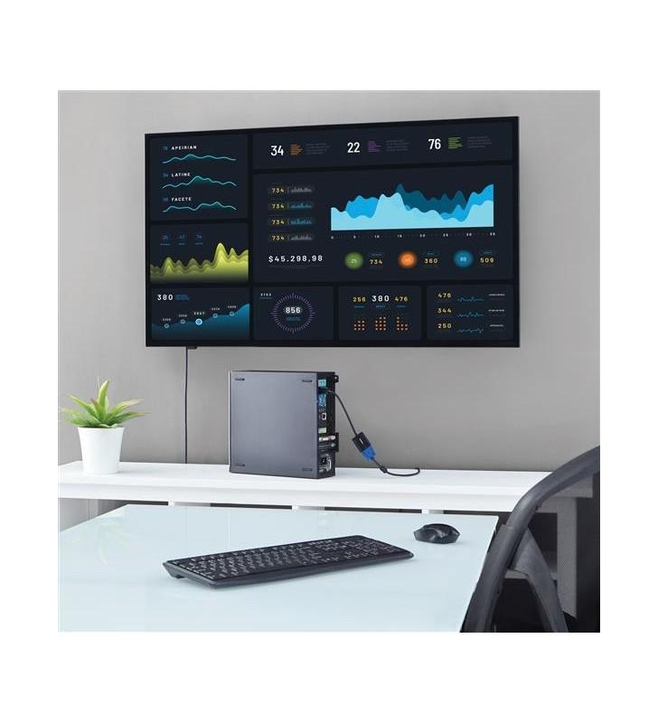 StarTech.com DP2VGA3X5 adaptor pentru cabluri video 0,1 m DisplayPort VGA (D-Sub) Negru