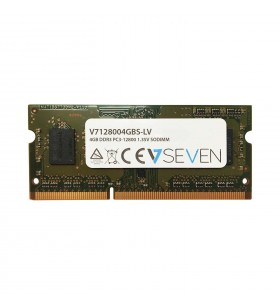 V7 4GB DDR3 1600MHz SO-DIMM module de memorie 4 Giga Bites