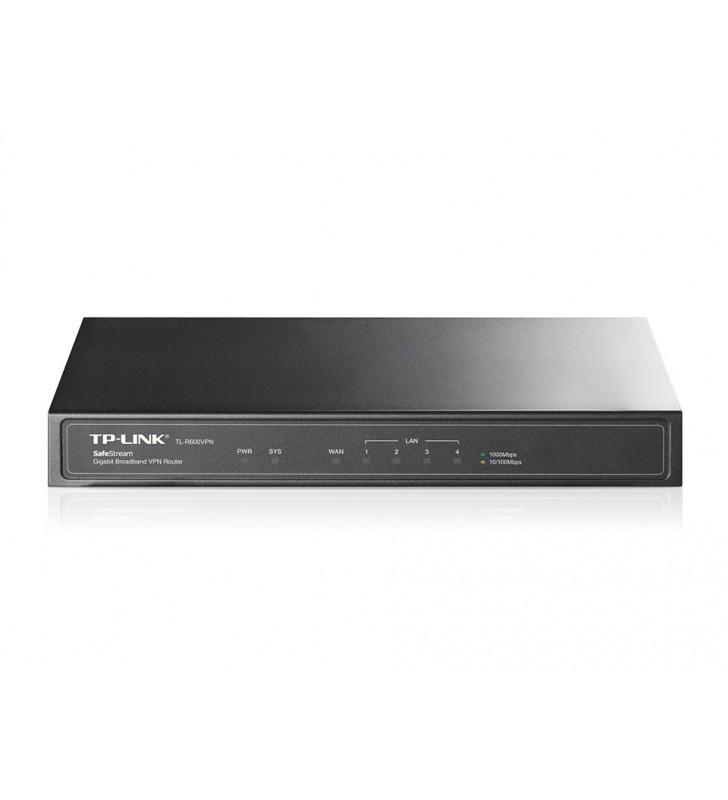TP-LINK TL-R600VPN router cu fir Gigabit Ethernet Negru