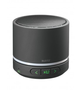 Leitz 63580095 difuzoare portabile 5 W Boxă portabilă stereo Negru