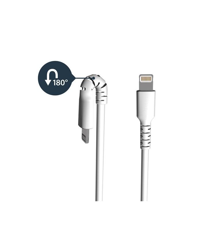 StarTech.com RUSBLTMM2M cablu Lightning 2 m Alb