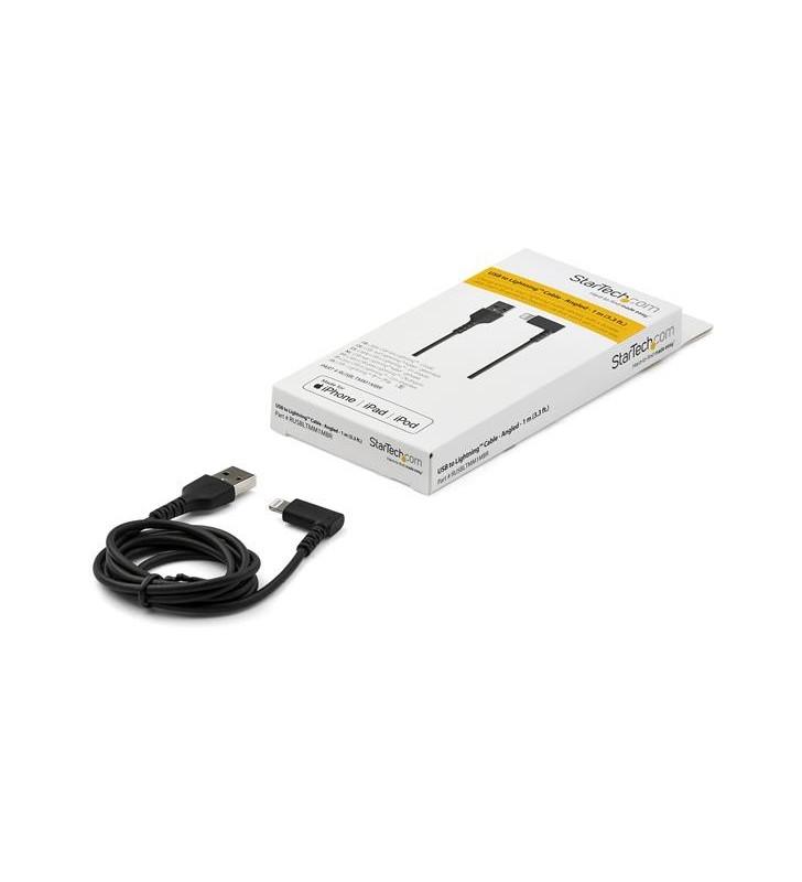 StarTech.com RUSBLTMM1MBR cablu Lightning 1 m Negru