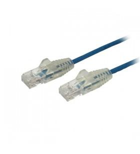 StarTech.com N6PAT50CMBLS cabluri de rețea 0,5 m Cat6 U UTP (UTP) Albastru