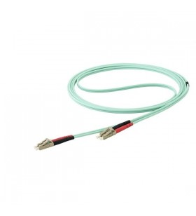 StarTech.com 450FBLCLC10 cabluri din fibră optică 10 m LSZH OM4 LC Aqua