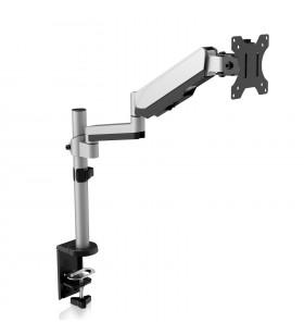 """V7 DM1TA-1E suporturi pentru birou pentru monitoarele LCD 81,3 cm (32"""") Suport Argint"""