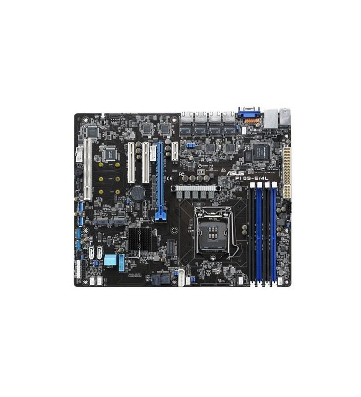 ASUS P10S-E 4L plăci de bază pentru servere stații de lucru LGA 1150 (Mufă H4) ATX Intel® C236
