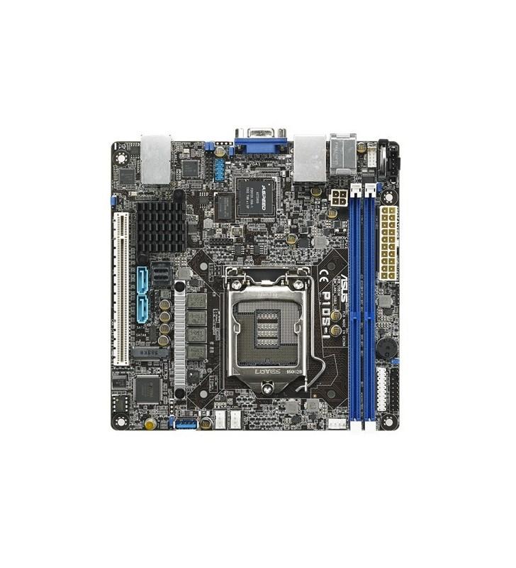 ASUS P10S-I plăci de bază pentru servere stații de lucru LGA 1150 (Mufă H4) Mini-ITX Intel® C232