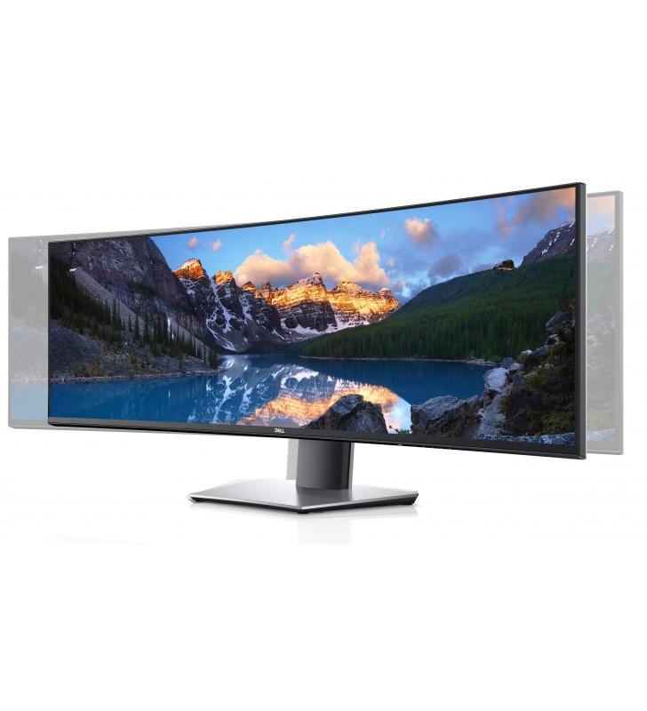 "DELL U4919DW 124,5 cm (49"") 5120 x 1440 Pixel UltraWide Dual Quad HD LCD Negru, Argint"