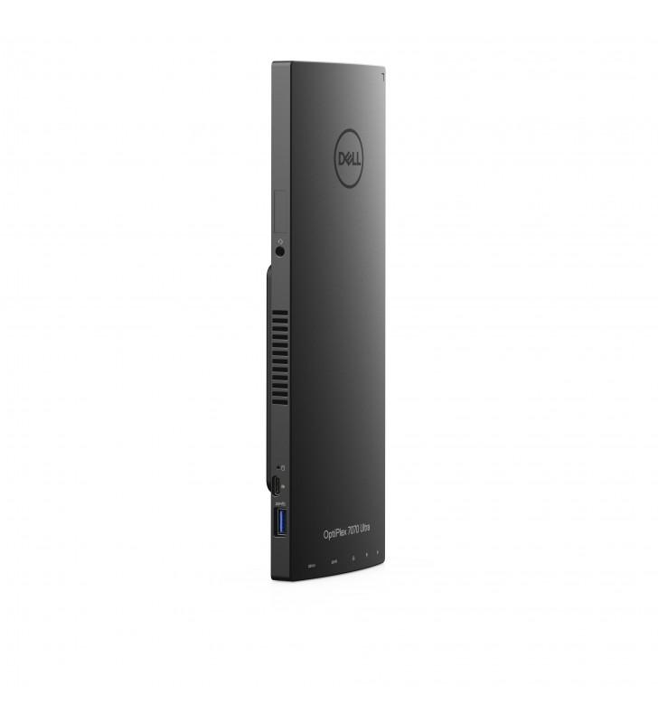 DELL OptiPlex 7070 UFF Intel® Core™ i5 generația a 8a i5-8365U 8 Giga Bites DDR4L-SDRAM 256 Giga Bites SSD Negru Mini PC