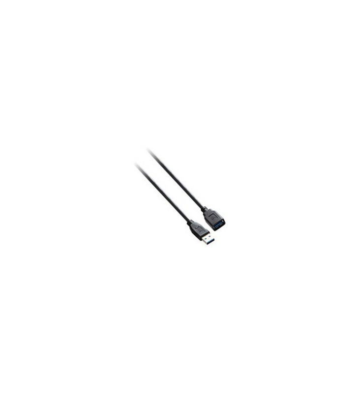 V7 V7E2USB3EXT-03M cabluri USB 3 m 3.2 Gen 1 (3.1 Gen 1) USB A Negru
