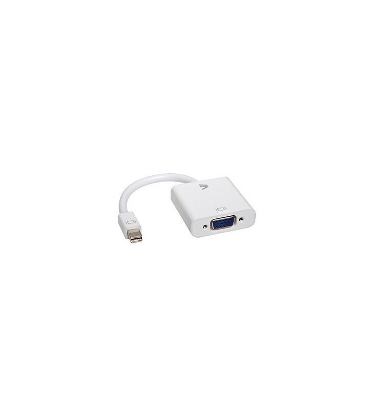 V7 CBL-MV1WHT-5E adaptor pentru cabluri video 0,17 m mini DisplayPort VGA (D-Sub) Alb