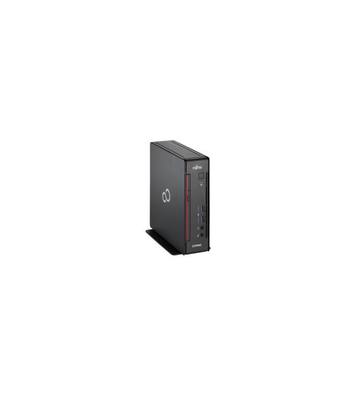 Fujitsu ESPRIMO Q558 Intel® Core™ i5 generația a 9a i5-9400T 8 Giga Bites DDR4-SDRAM 256 Giga Bites SSD Mini PC Negru