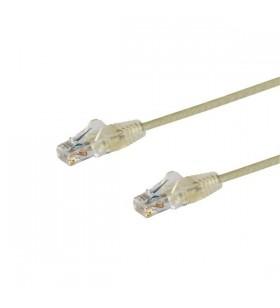 StarTech.com N6PAT50CMGRS cabluri de rețea 0,5 m Cat6 U UTP (UTP) Gri