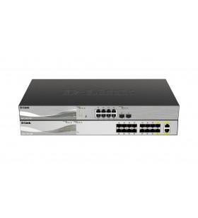 D-Link DXS-1100-16SC switch-uri Gestionate 10G Ethernet (100 1000 10000) Negru