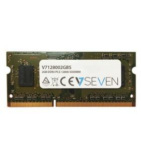 V7 V7128002GBS module de memorie 2 Giga Bites DDR3 1600 MHz