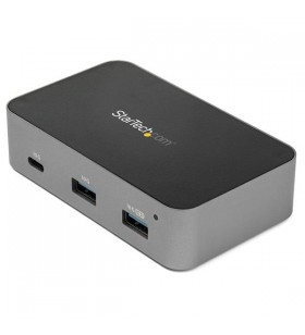 StarTech.com HB31C3A1CS hub-uri de interfață USB 3.2 Gen 2 (3.1 Gen 2) Type-C 10000 Mbit s Negru, Gri