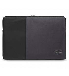 """Targus TSS95104EU genți pentru notebook-uri 39,6 cm (15.6"""") Geantă Sleeve Negru, Gri"""