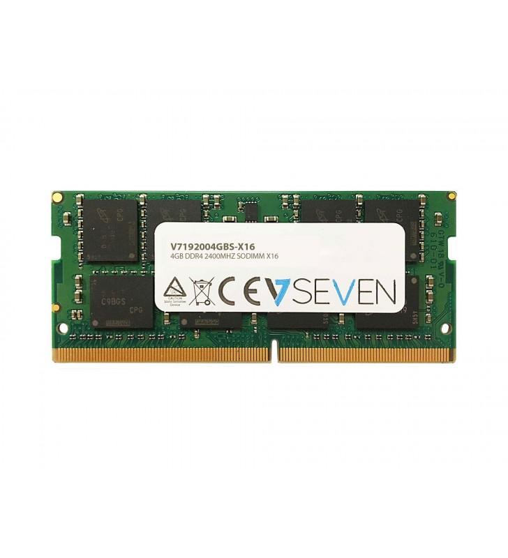 V7 V7192004GBS-X16 module de memorie 4 Giga Bites DDR4 2400 MHz