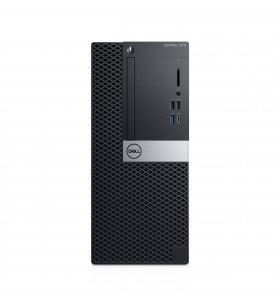 DELL OptiPlex 7070 Intel® Core™ i5 generația a 9a i5-9500 8 Giga Bites DDR4-SDRAM 256 Giga Bites SSD Mini Tower Negru PC-ul
