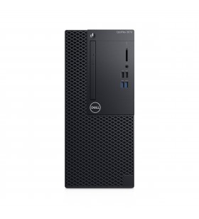 DELL OptiPlex 3070 Intel® Core™ i3 generația a 9a i3-9100 8 Giga Bites DDR4-SDRAM 256 Giga Bites SSD Mini Tower Negru PC-ul