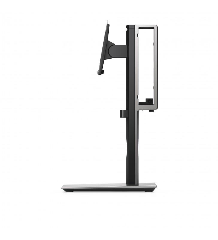 """DELL MFS18 suporturi pentru birou pentru monitoarele LCD 68,6 cm (27"""") De sine stătătoare Negru, Argint"""