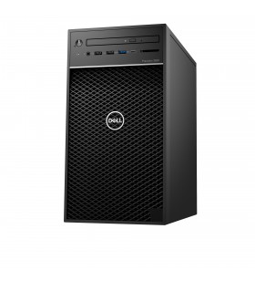 DELL Precision 3630 Intel® Core™ i5 generația a 9a i5-9500 8 Giga Bites DDR4-SDRAM 1000 Giga Bites HDD Tower Negru PC-ul