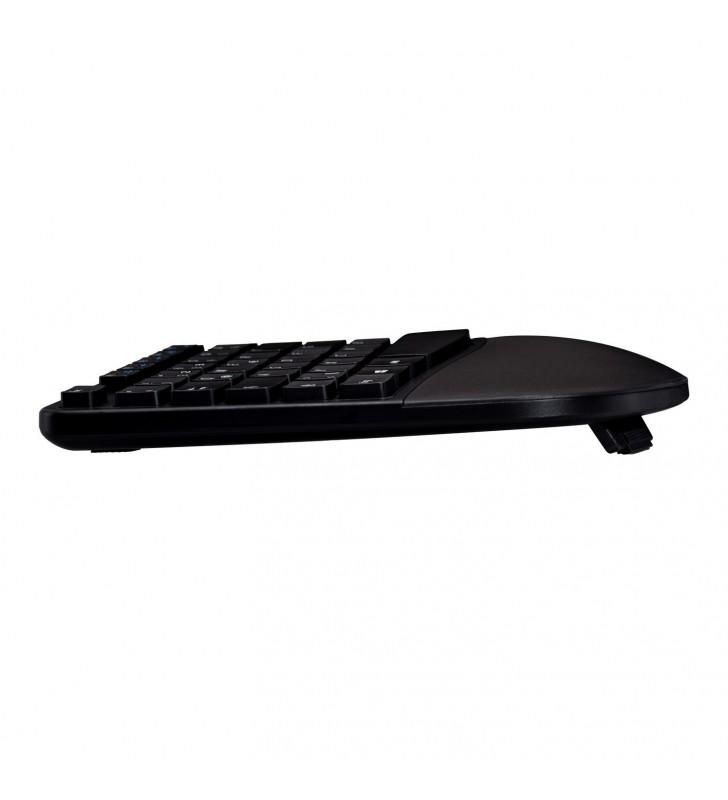 V7 CKW400FR tastaturi RF fără fir Franţuzesc Negru