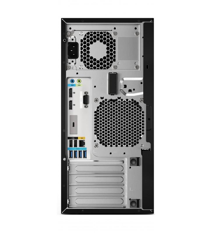 HP Z2 G4 Intel® Core™ i7 generația a 9a i7-9700 16 Giga Bites DDR4-SDRAM 512 Giga Bites SSD Tower Negru Stație de lucru Windows