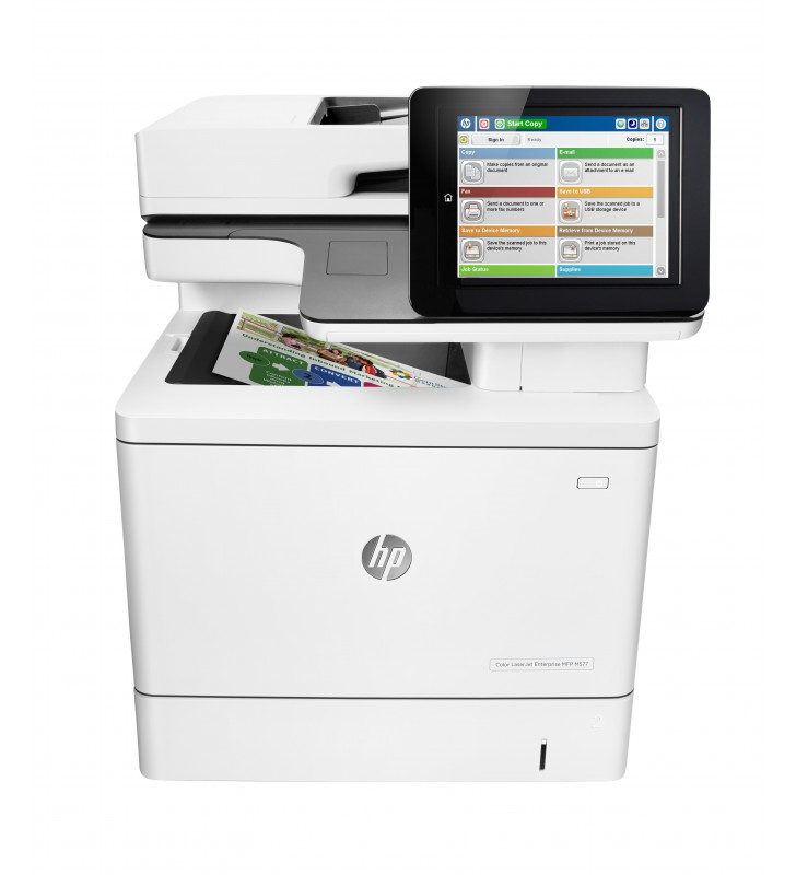 HP Color LaserJet Enterprise M577dn Cu laser 1200 x 1200 DPI 38 ppm A4