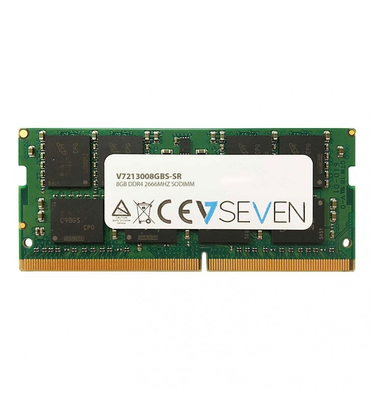 V7 V7213008GBS-SR module de memorie 8 Giga Bites DDR4 2666 MHz