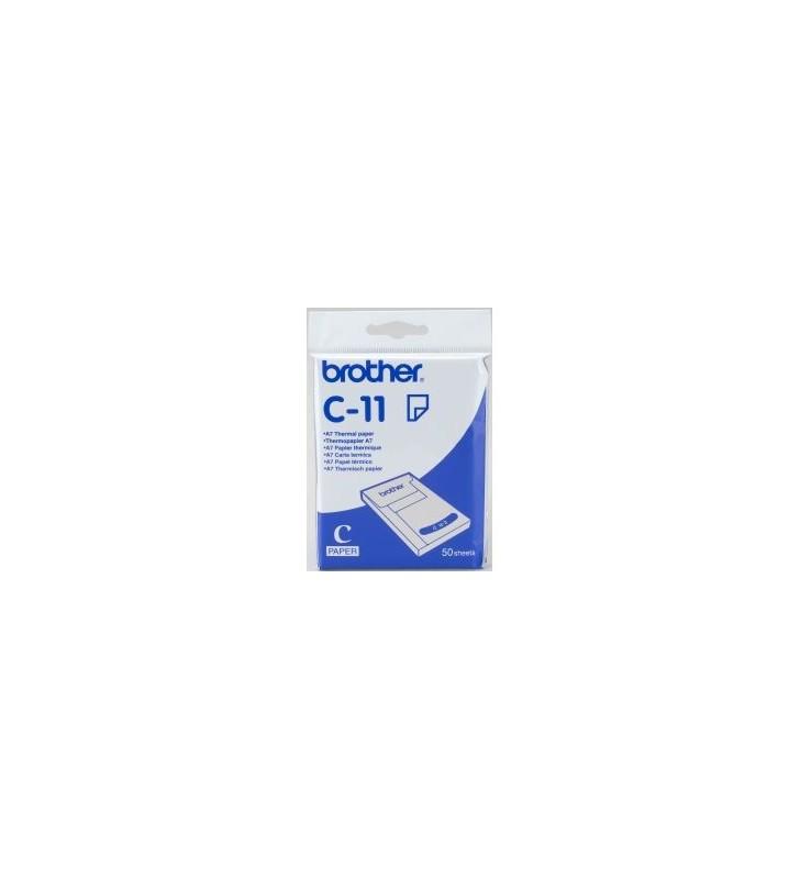 Brother C-11 hârtii termice A7