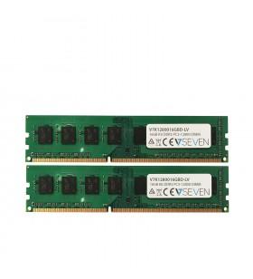 V7 V7K1280016GBD-LV module de memorie 16 Giga Bites DDR3 1600 MHz