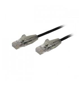 StarTech.com N6PAT100CMBKS cabluri de rețea 1 m Cat6 U UTP (UTP) Negru