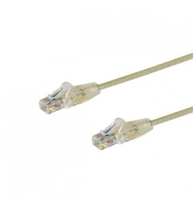 StarTech.com N6PAT300CMGRS cabluri de rețea 3 m Cat5e U UTP (UTP) Gri