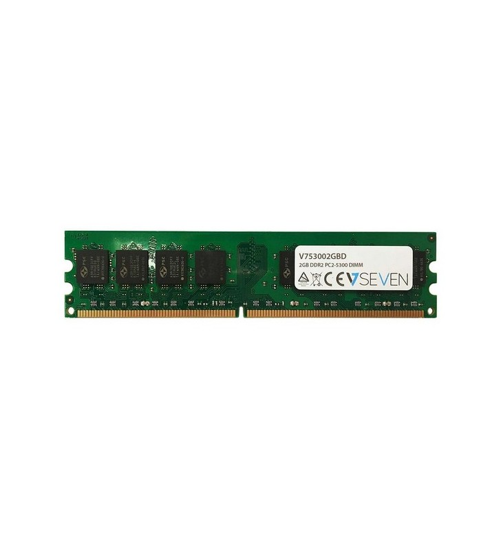 V7 V753002GBD module de memorie 2 Giga Bites DDR2 667 MHz