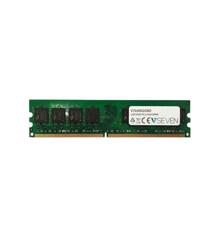 V7 V764002GBD module de memorie 2 Giga Bites DDR2 800 MHz