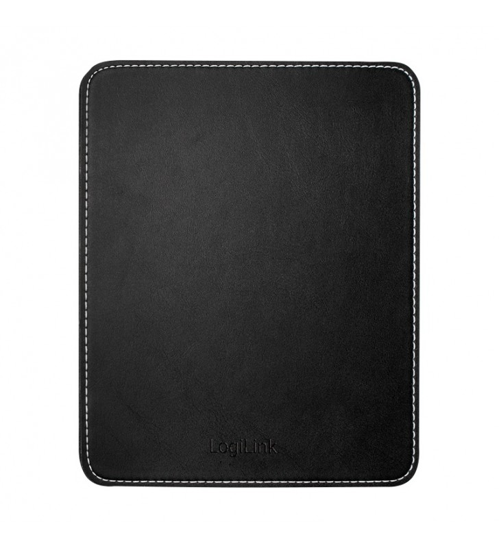 """Mouse Pad, Leather Design, black """"ID0150"""""""