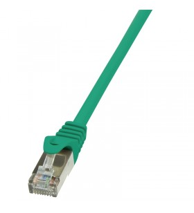 """Patch Cable Cat.5e F/UTP  5,00m green """"CP1075S"""""""