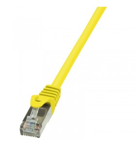 "Patch Cable Cat.5e F/UTP  5,00m yellow ""CP1077S"""