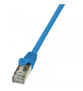 "Patch Cable Cat.5e F/UTP  7,50m blue ""CP1086S"""