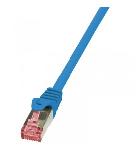 """Patch Cable Cat.6 S/FTP blue 10m, PrimeLine """"CQ2096S"""""""