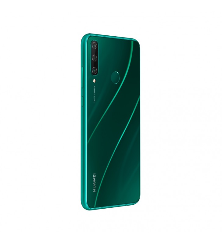 "Huawei Y6p 16 cm (6.3"") 3 Giga Bites 64 Giga Bites Dual SIM 4G Micro-USB Verde Android 10.0 Huawei Mobile Services (HMS) 5000"