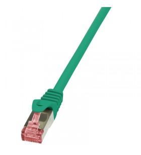 "Patch Cable Cat.6 S/FTP green 10m, PrimeLine ""CQ2095S"""
