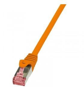 """Patch Cable Cat.6 S/FTP orange 10m, PrimeLine """"CQ2098S"""""""