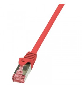 "Patch Cable Cat.6 S/FTP red 10m, PrimeLine ""CQ2094S"""
