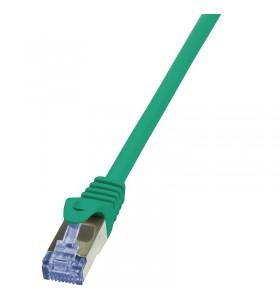"Patch Cable Cat.6A S/FTP green  7,50m, PrimeLine ""CQ3085S"""