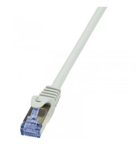 Patch Cable Cat.6A S/FTP grey 30m, PrimeLine
