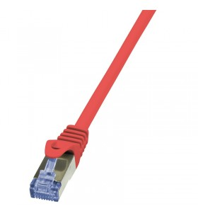 "Patch Cable Cat.6A S/FTP red  7,50m, PrimeLine ""CQ3084S"""