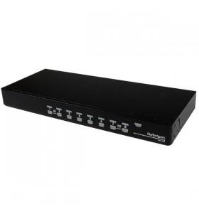 StarTech.com SV831DUSBGB switch-uri pentru tastatură, mouse și monitor (KVM) Negru